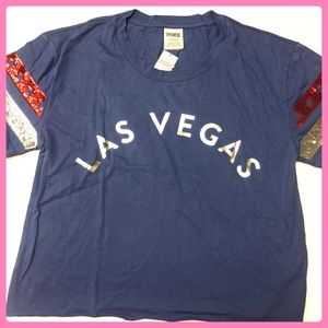 New PINK Victoria's Secret Las Vegas T-Shirt